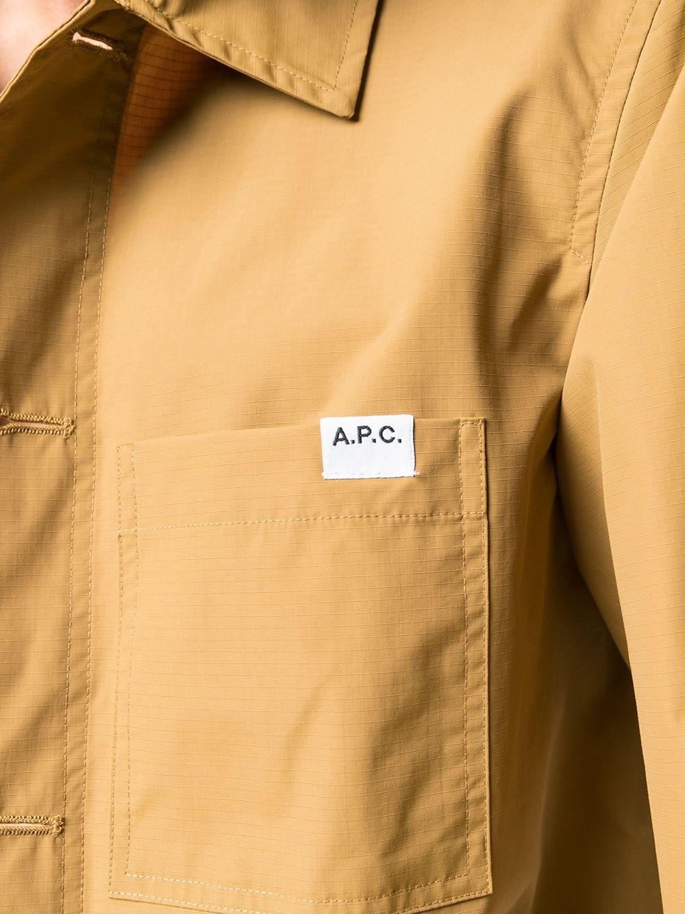 NATHANAEL SHIRT JACKET A.P.C. | Jackets | PAAEE-H02609CAB