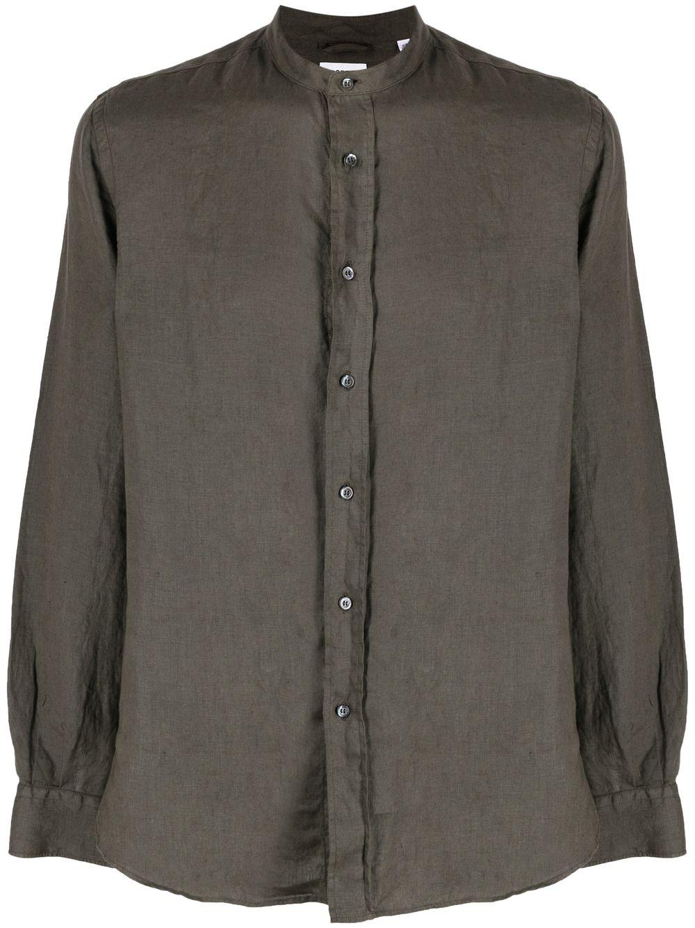 camicia in lino uomo marrone ASPESI   Camicie   CE76 C19585390