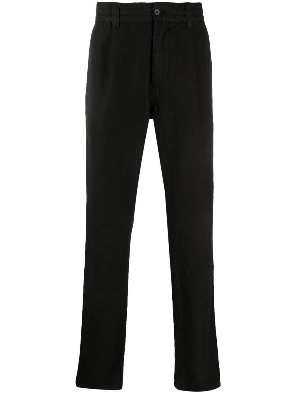 Aspesi pantaloni a gamba dritta uomo nero ASPESI | Pantaloni | CP30 G43485241