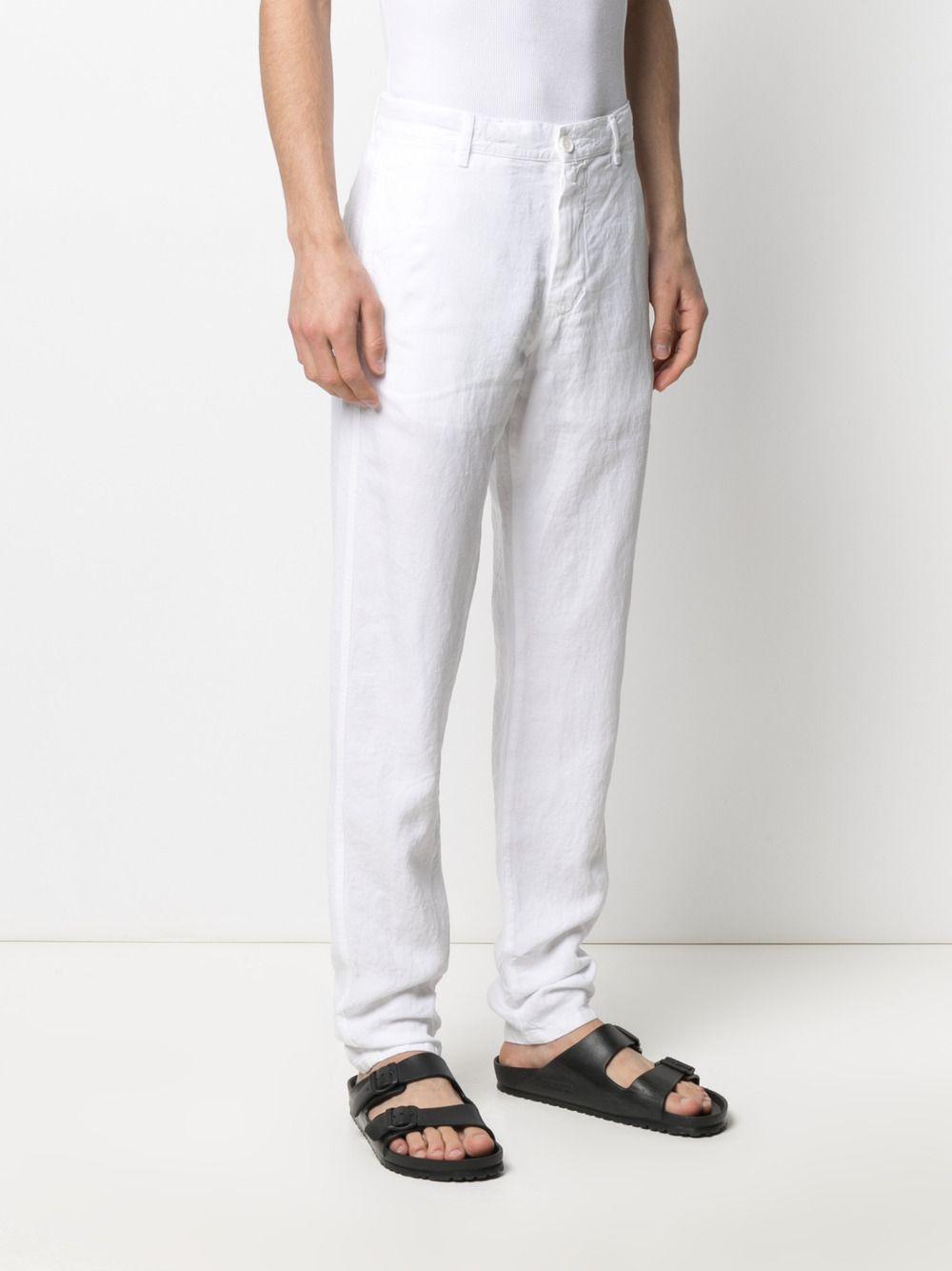 Aspesi straight leg linen trousers man ASPESI | Trousers | CP42 C25385072