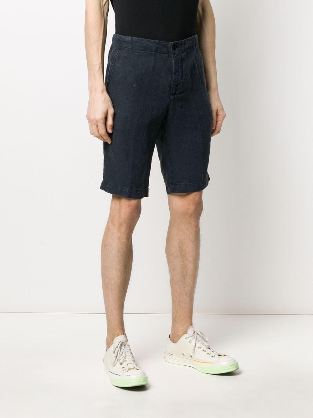 Bowl linen shorts blue man ASPESI | Shorts | CQ21 C25385098