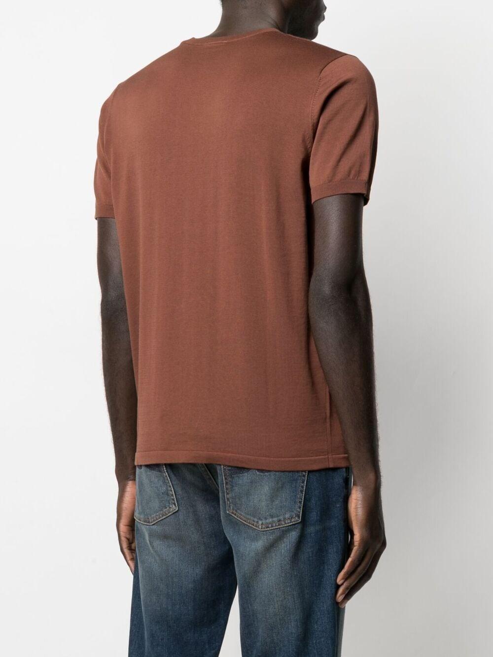 Aspesi t-shirt in cotone uomo marrone ASPESI | T-shirt | M149 337101027