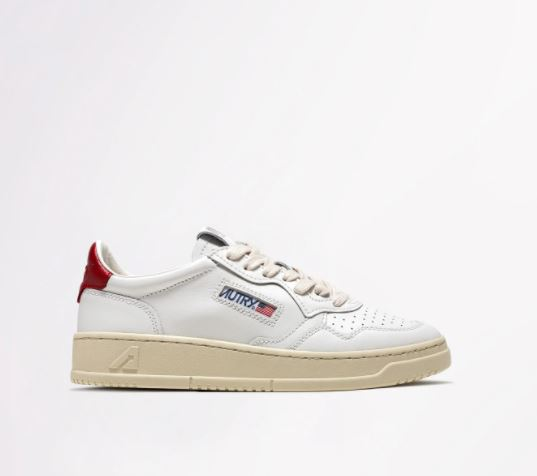 Autry sneakers con logo uomo AUTRY | Sneakers | AULMLL21WHITE/RED