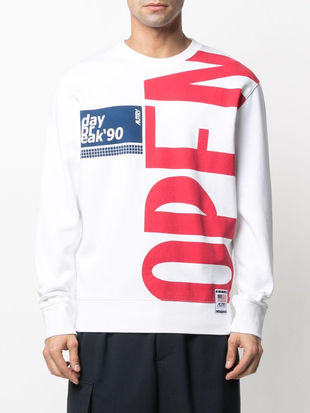 Autry logo sweatshirt man AUTRY | Sweatshirts | SWXMA10M