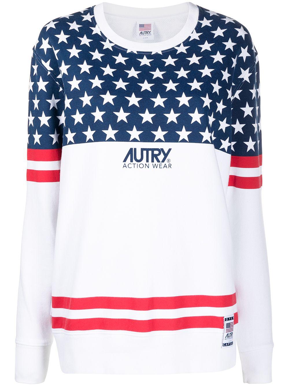 PRINT SWEATSHIRT AUTRY | Sweatshirts | SWXWA14W