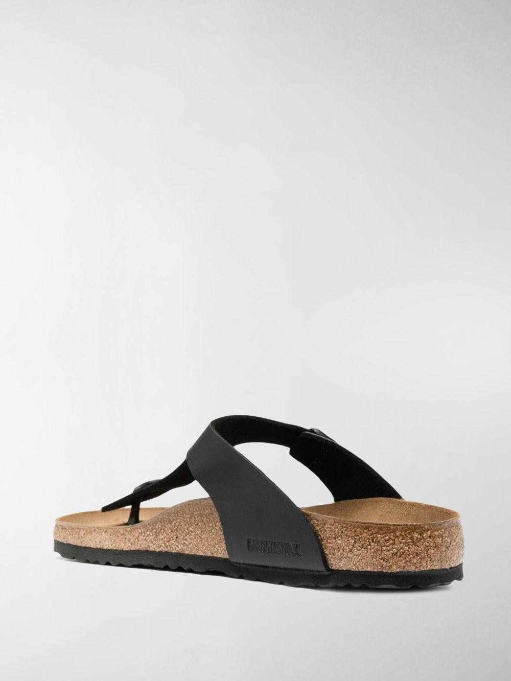 Birkenstock gizeh sandals unisex BIRKENSTOCK | Sandals | 043691BLACK