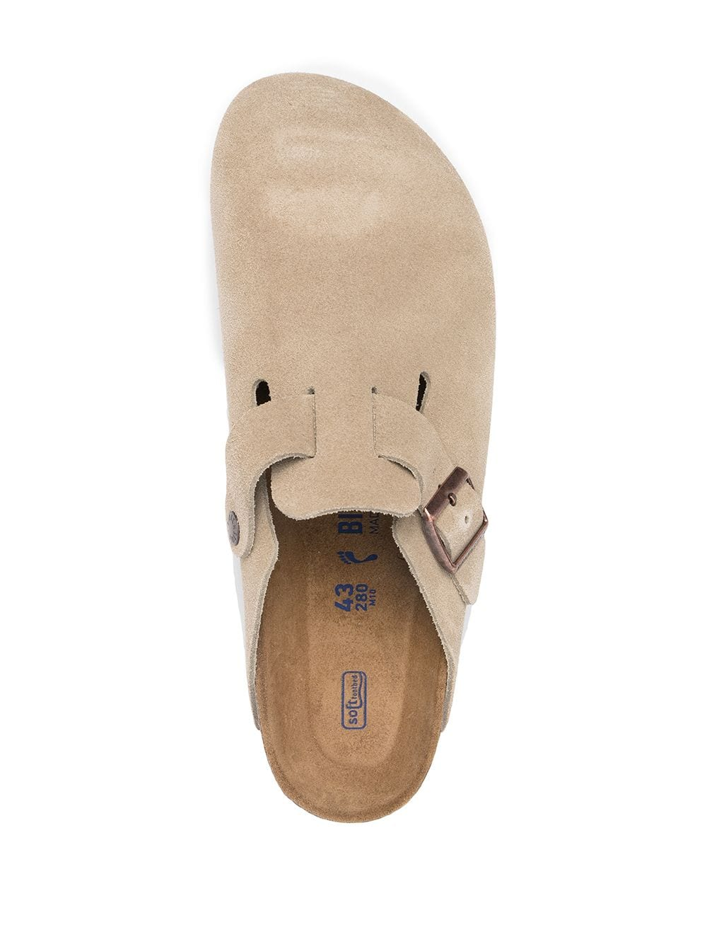 Birkenstock boston sandals man beige BIRKENSTOCK | Sandals | 560773TAUPE