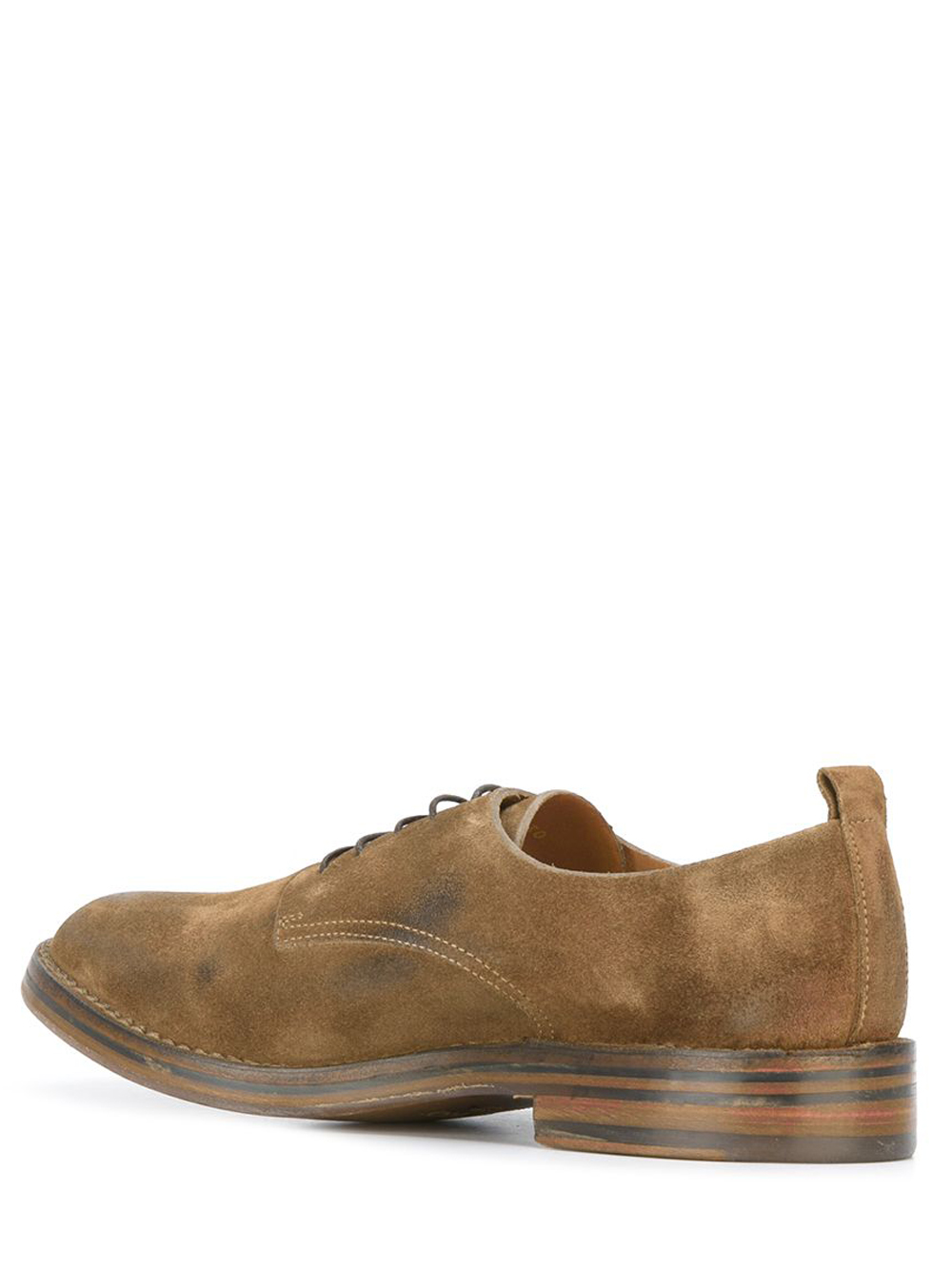 Buttero low top suede sneakers man brown BUTTERO | Laced Shoes | B6330GORH-UGTOBACCO