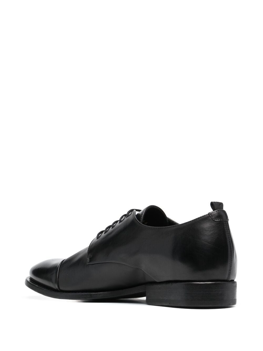 Leather shiny lace up shoes man BUTTERO | Laced Shoes | B7344DIV-UG01
