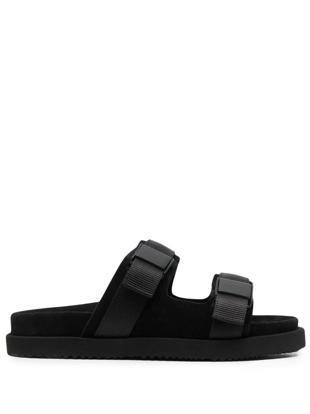 Buttero sandali con doppio cinturino uomo nero BUTTERO | Sandali | B9331VARC-UGBLACK
