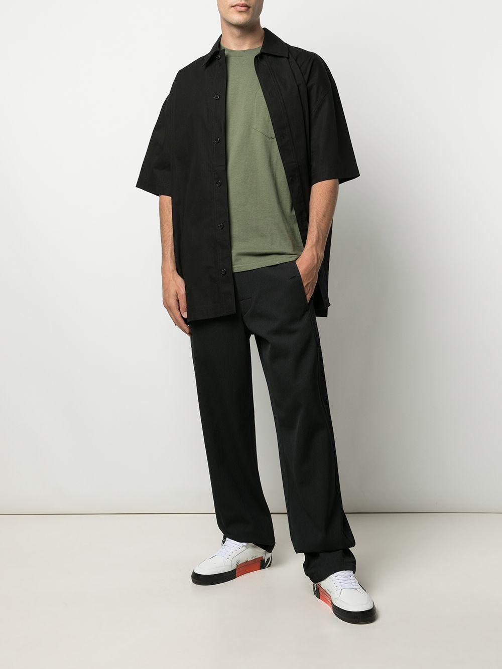Pocket t-shirt man green cotton CARHARTT WIP | T-shirts | I022091667.00