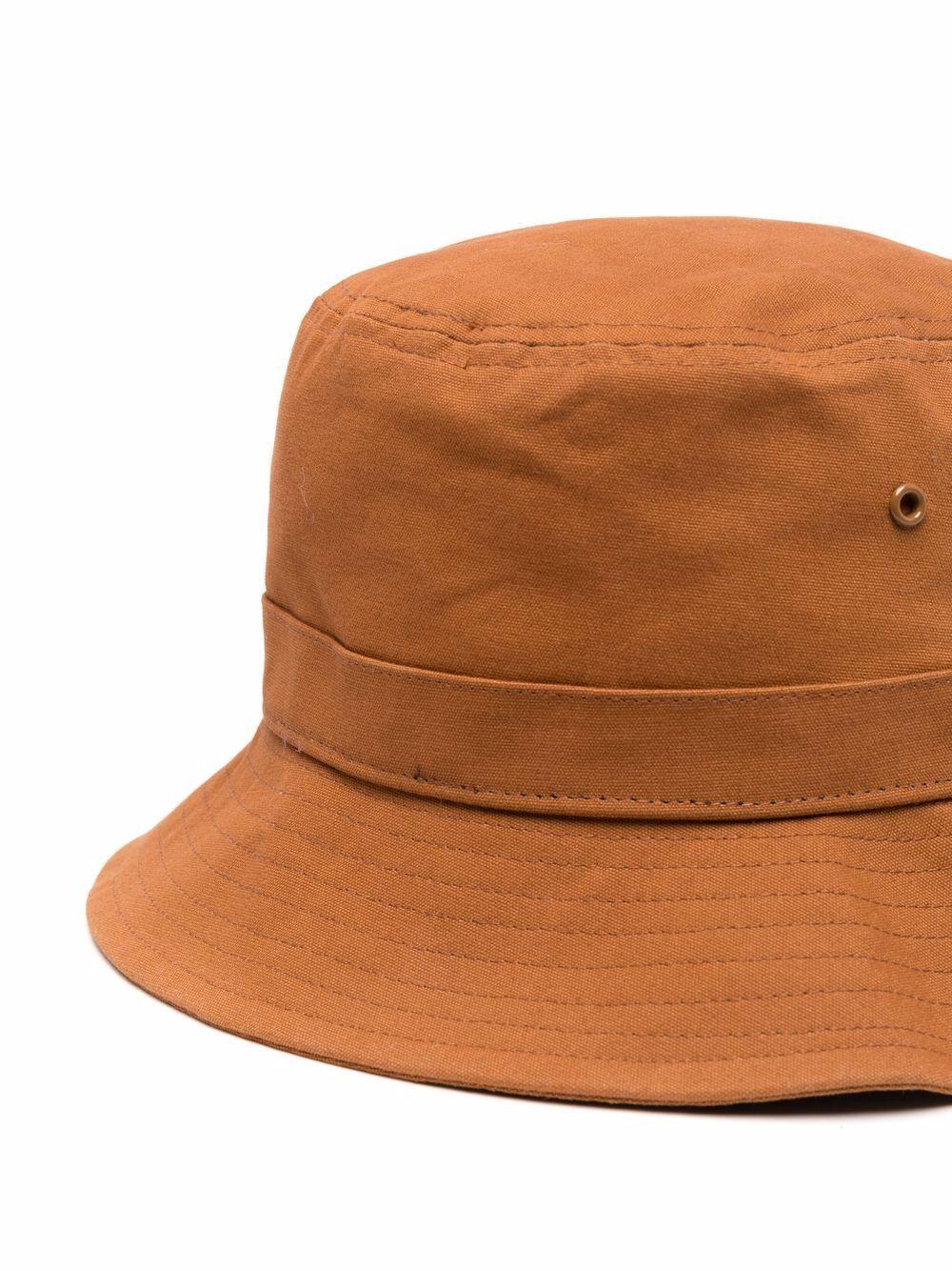 cappello bucket unisex marrone in cotone CARHARTT WIP | Cappelli | I0262170AB.90