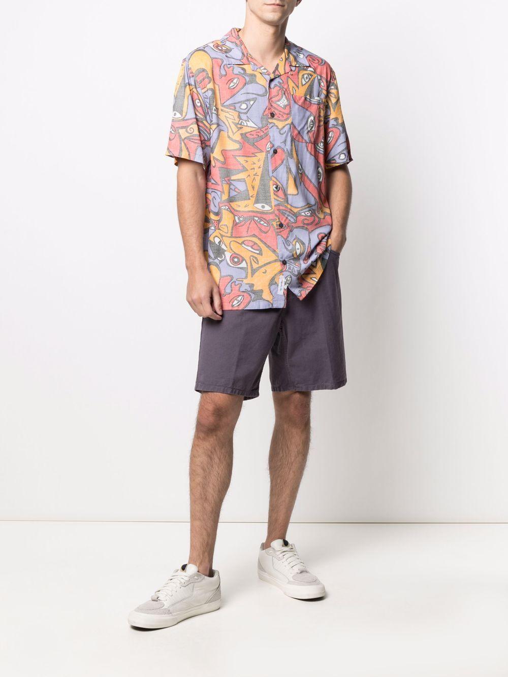 bermuda newel uomo viola in cotone CARHARTT WIP | Bermuda | I0279520AF.GD