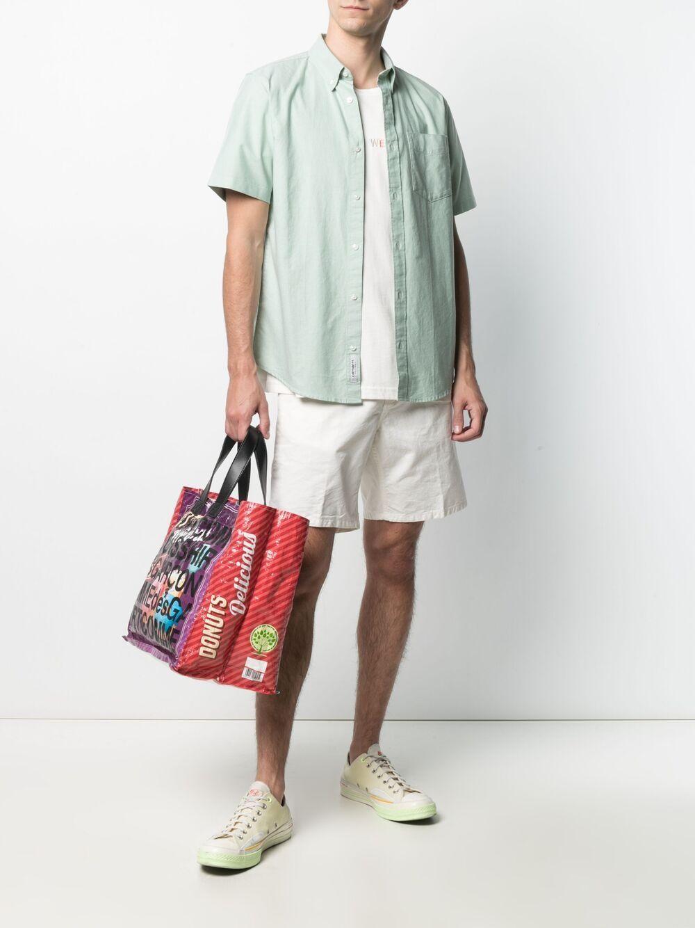 newel shorts man white in cotton CARHARTT WIP | Shorts | I027952350.GD