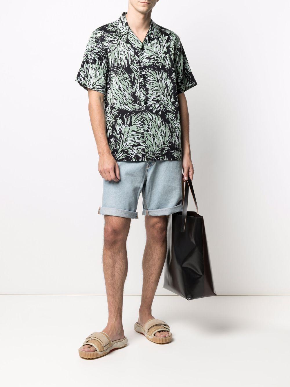 camicia hinterland uomo nera in cotone CARHARTT WIP   Camicie   I0287960BK.00