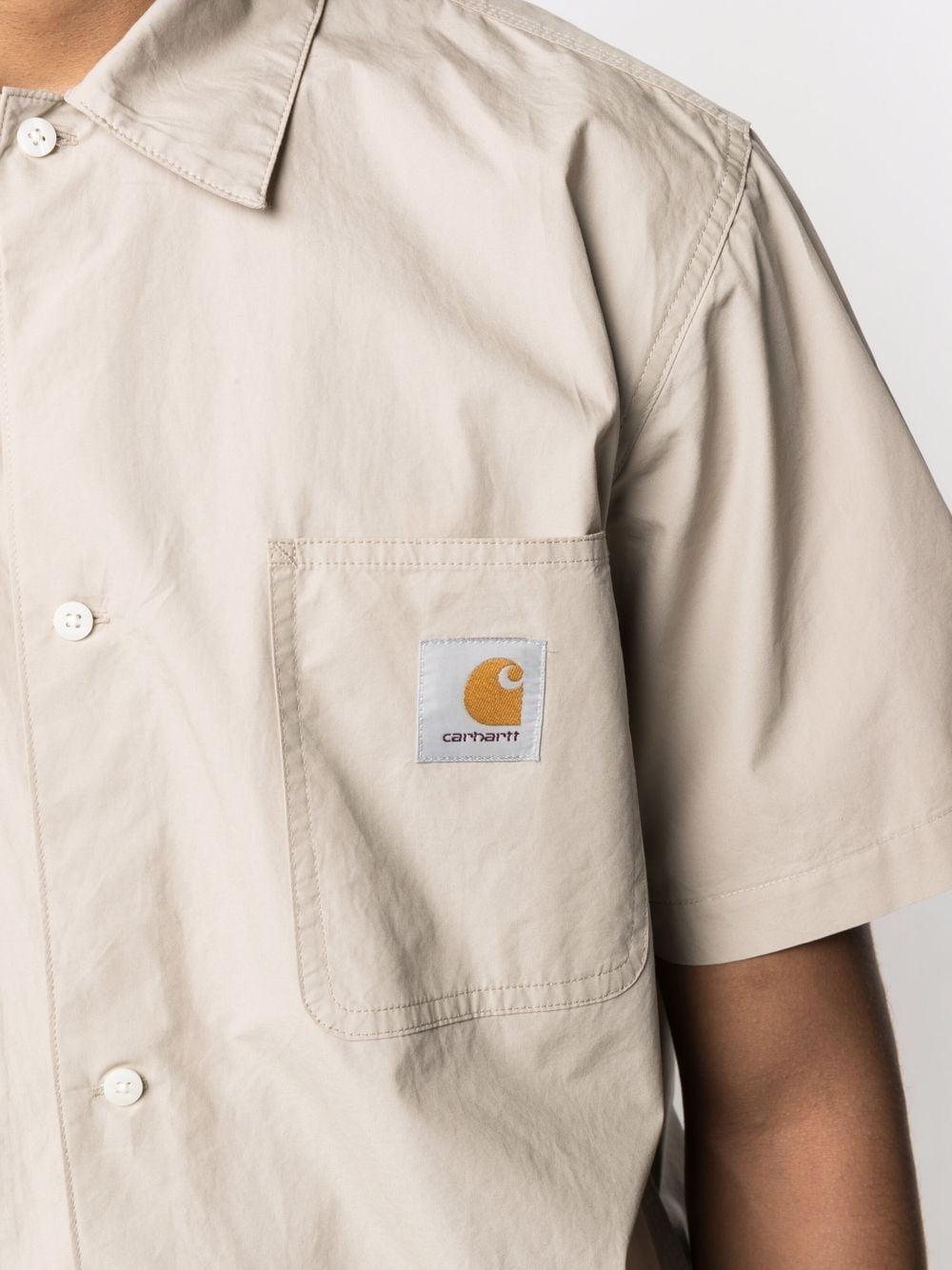 Carhartt wip camicia a maniche corte uomo CARHARTT WIP | Camicie | I028804G1.00