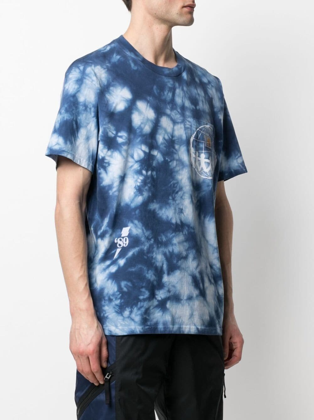t-shirt joint pocket man blue in cotton CARHARTT WIP | T-shirt | I0289320AD.90