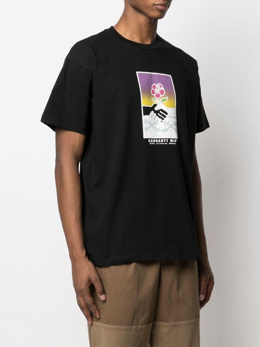 Carhartt wip t-shirt con stampa uomo CARHARTT WIP   T-shirt   I02901689.00