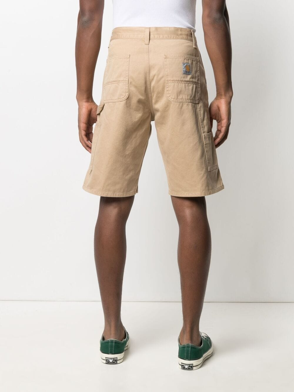 Carhartt ruck single knee shorts man beige CARHARTT | Shorts | I02489207E.06