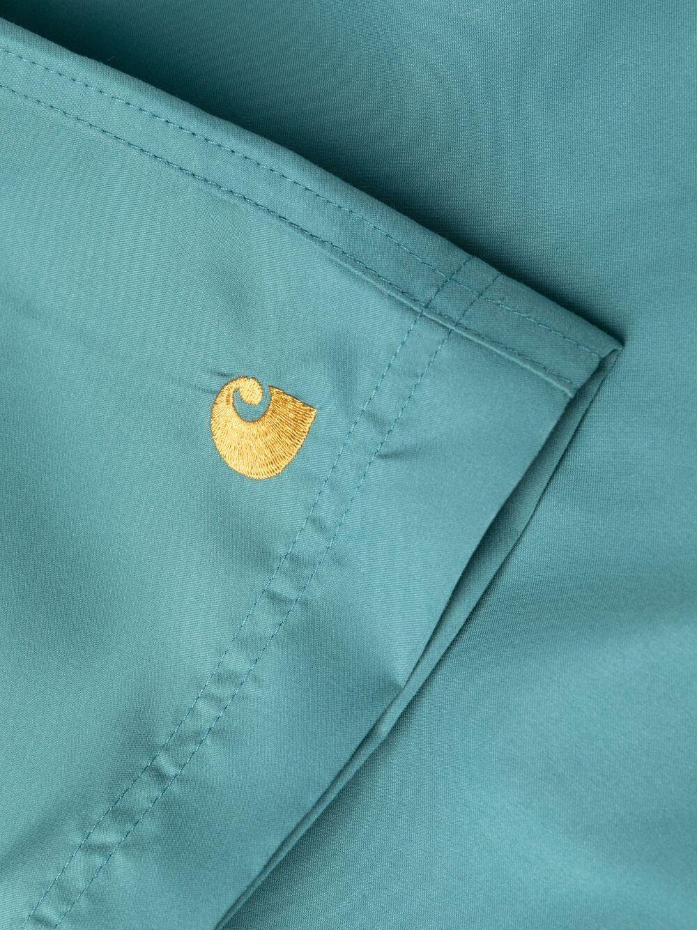 Carhartt costume con logo uomo azzurro CARHARTT WIP | Costumi da bagno | I0262350AC.90