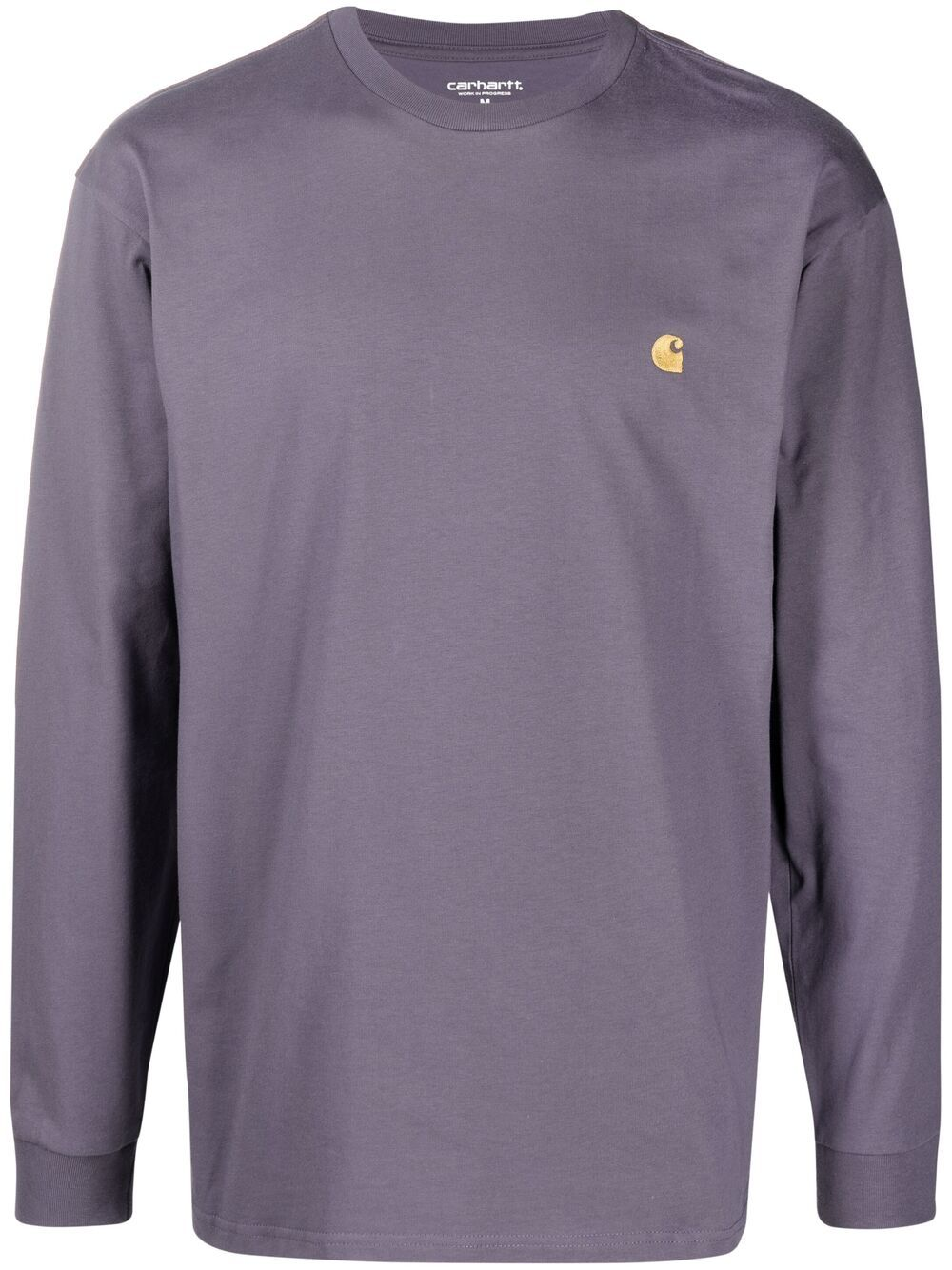 Carhartt l/s chase t-shirt unisex violet CARHARTT | T-shirts | I026392.030AF.90