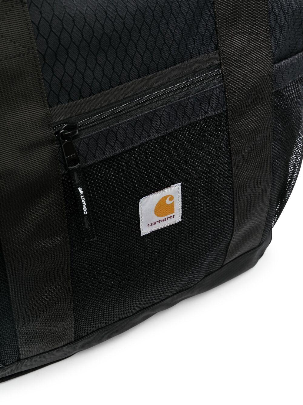 Carhartt borsa tote con patch logo unisex nero CARHARTT | Borse | I02888889.00