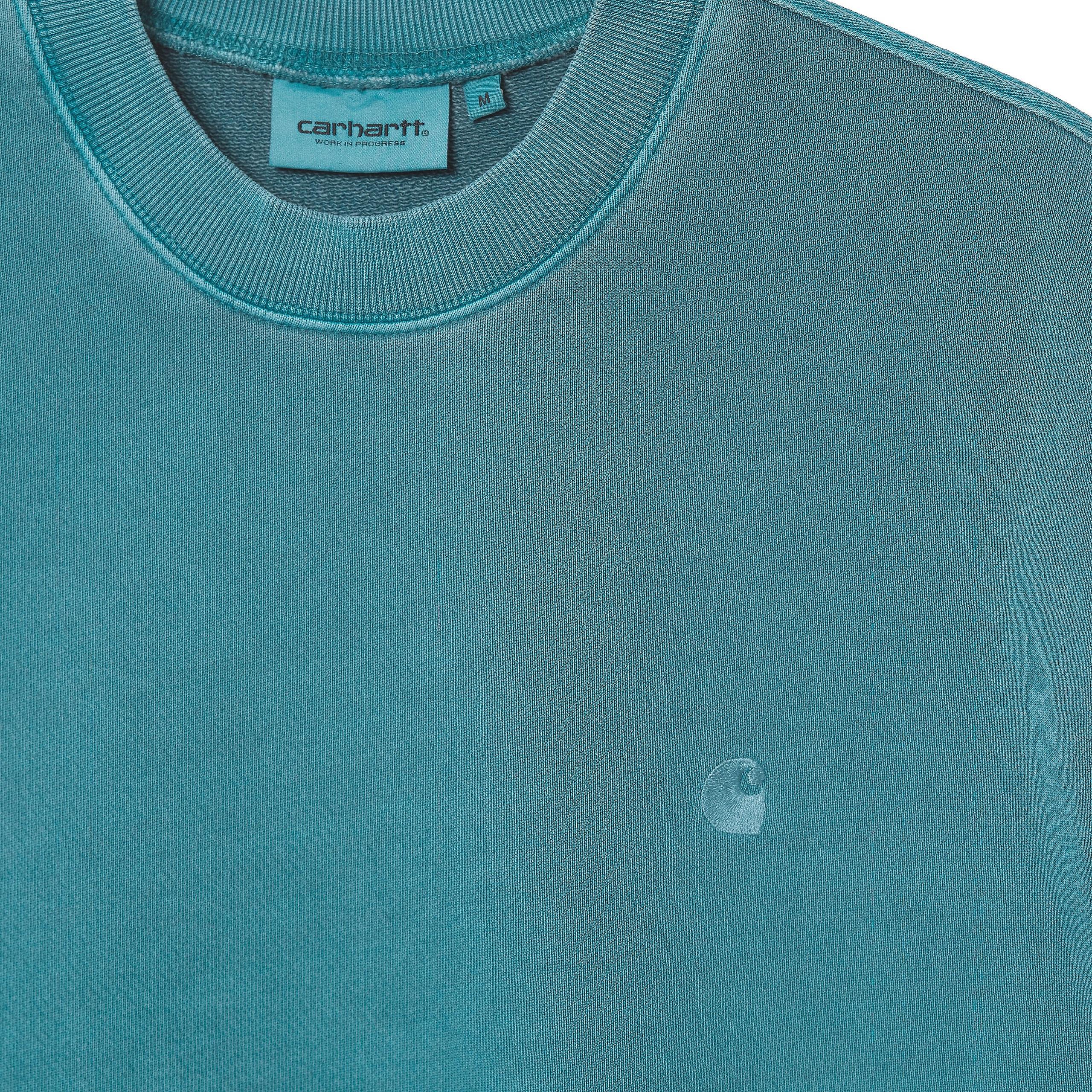 Carhartt felpa sedona uomo azzurro CARHARTT WIP | Felpe | I0289640AC.00