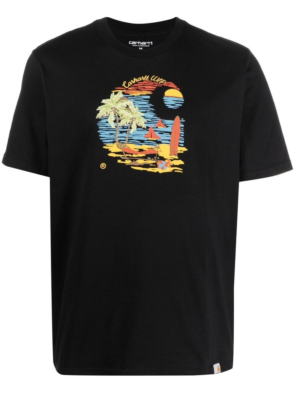 T-Shirt S/S Beach Uomo CARHARTT WIP | T-shirt | I029020.0389.00