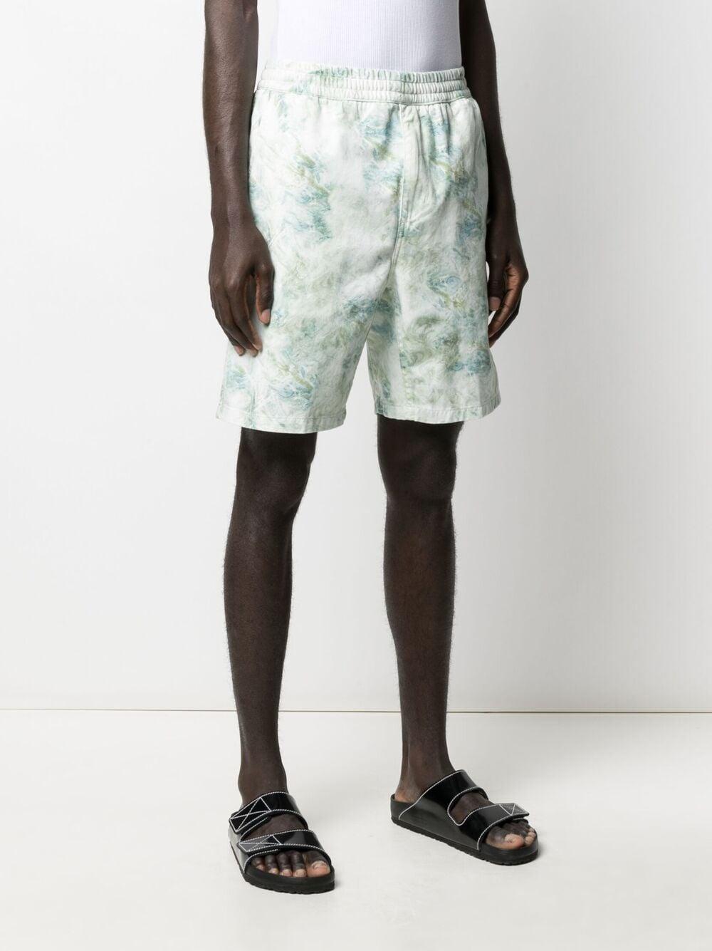 Carhartt marble shorts man multicolor CARHARTT WIP | Shorts | I0291670DD.96