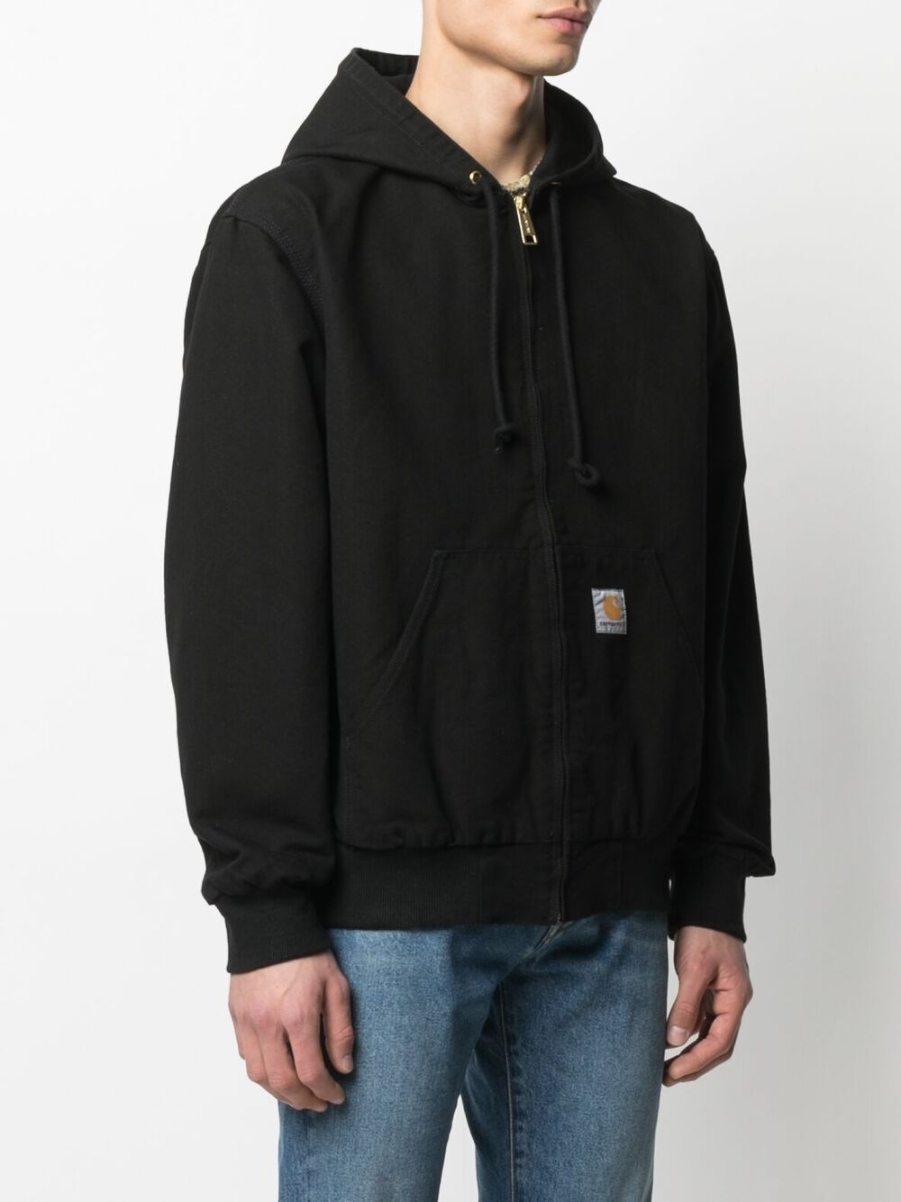 giacca active uomo nera in cotone CARHARTT WIP | Giacche | I02924289.02