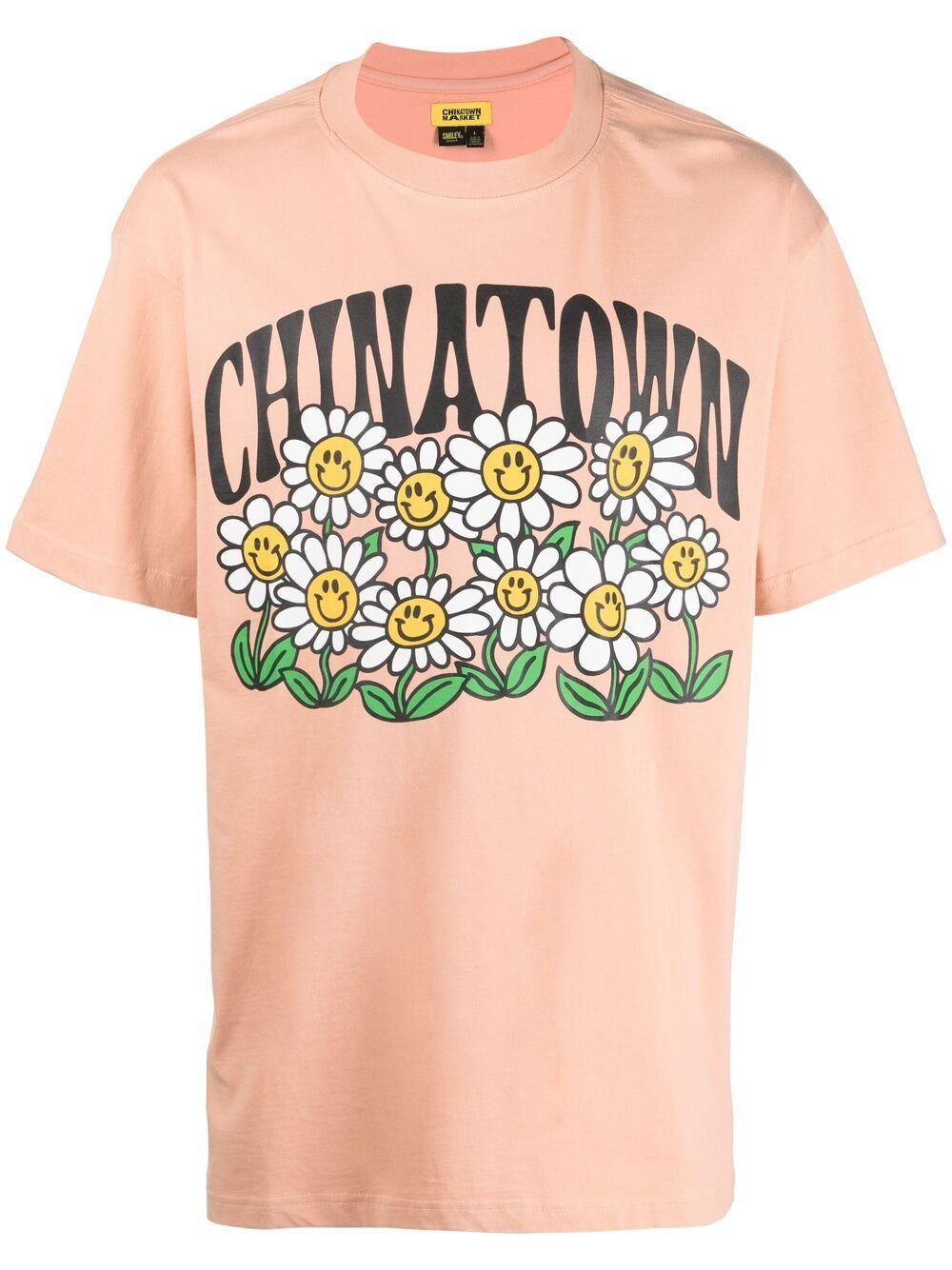 Chinatown market print t-shirt man CHINATOWN MARKET   T-shirts   1990464PCH