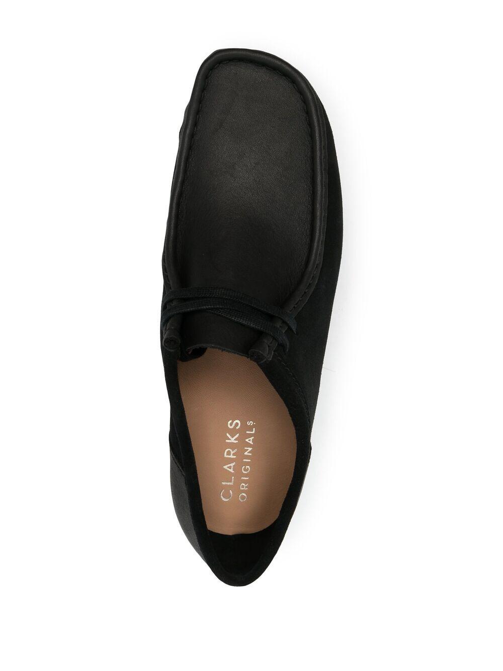 Clarks Original wallabee 2clr man CLARKS | Laced Shoes | 160489BLACK
