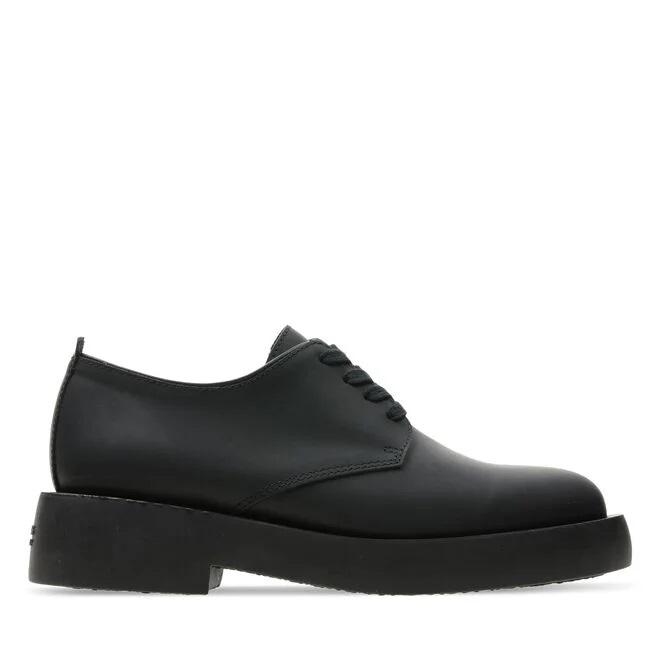 MILENO LONDON LACE-UP CLARKS | Laced Shoes | 26160861BLACK LEATHER