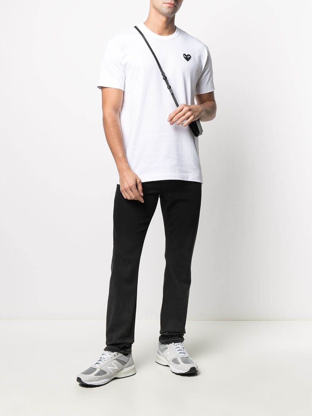 Comme Des Garçons Play t-shirt man white COMME DES GARÇONS PLAY | T-shirts | P1T064B