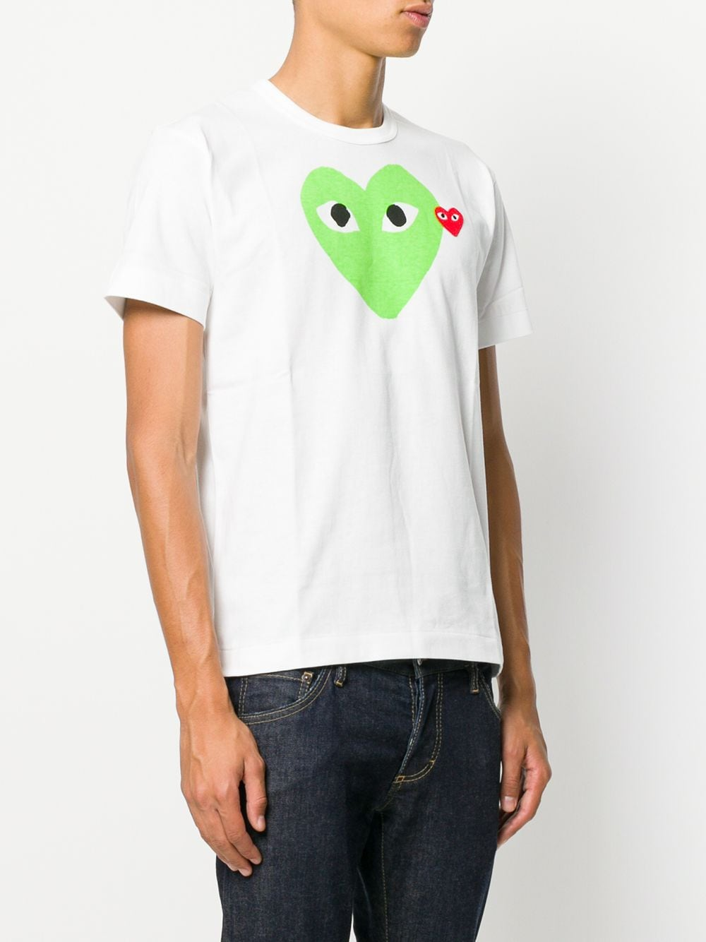 Comme Des Garçons Play play t-shirt unisex COMME DES GARÇONS PLAY   T-shirts   P1T1063