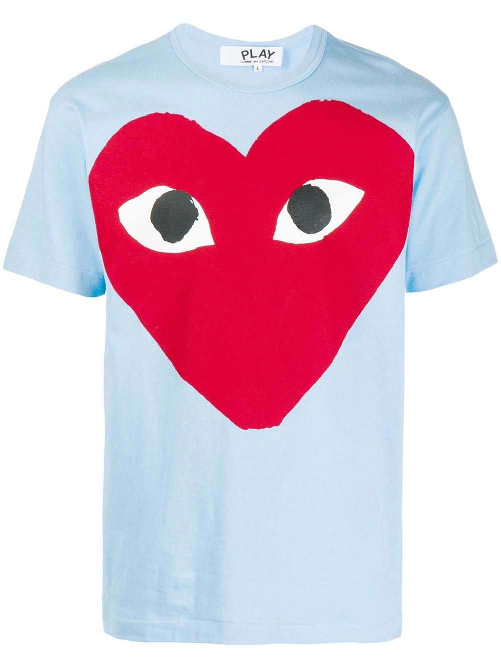 Comme Des Garçons Play t-shirt man sky COMME DES GARÇONS PLAY | T-shirts | P1T2741