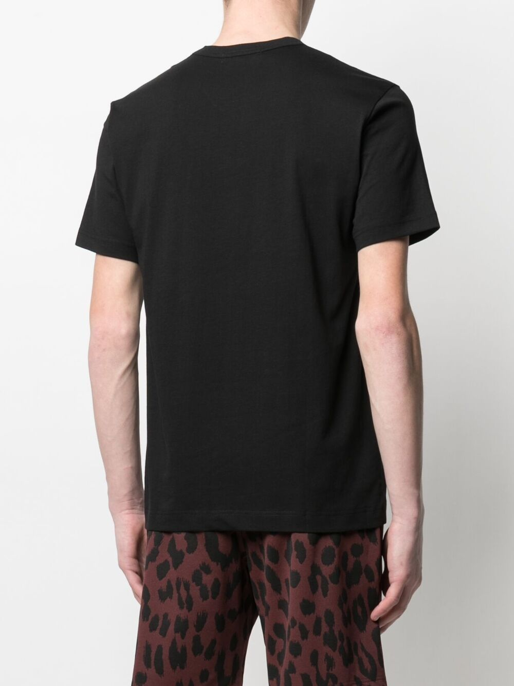 Comme Des Garçons Shirt t-shirt con logo stampato uomo COMME DES GARÇONS SHIRT   T-shirt   FG-T018BLACK