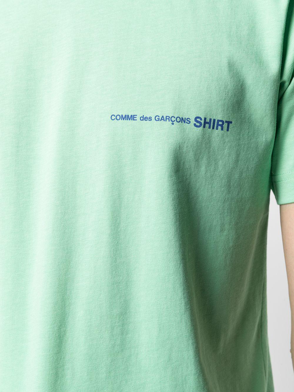 COMME DES GARÇONS SHIRT   T-shirts   FG-T020GREEN