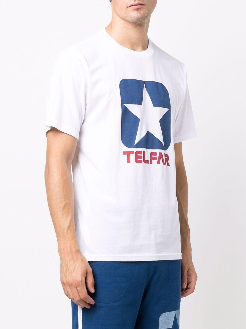 printed t-shirt man white in cotton CONVERSE X TELFAR | T-shirts | 10022844-A01WHT