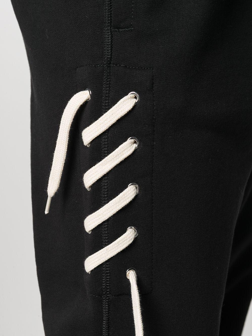 LACES TROUSERS CRAIG GREEN   Trousers   CGSS21CJETRP01BLACK/CREAM