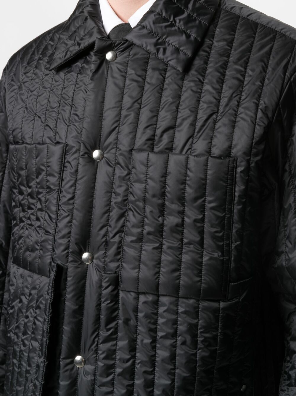 Craig Green tied waist padded jacket man black CRAIG GREEN | Jackets | CGSS21CWOJKT01BLACK