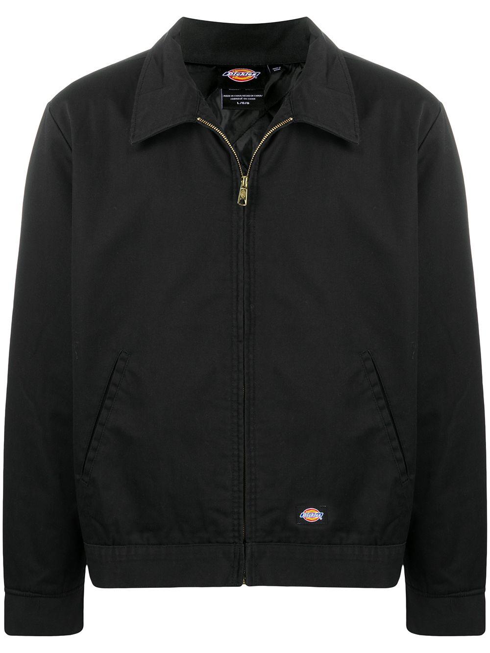Dickies giacca di cotone con zip uomo DICKIES | Giacche | DK00TJ15BLK