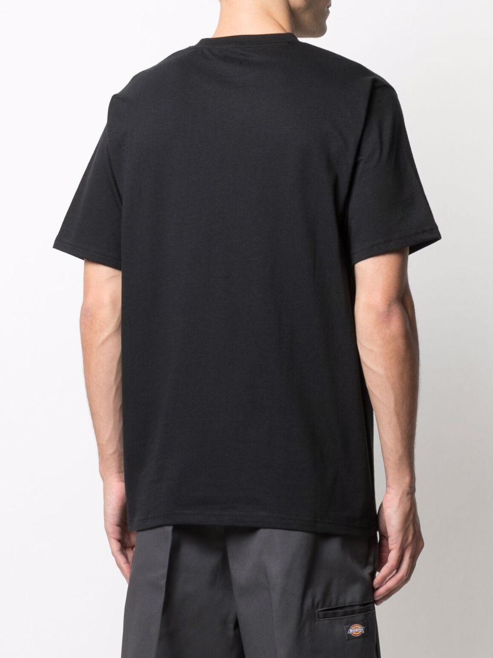 Dickies t-shirt con logo uomo DICKIES | T-shirt | DK0A4XC9BLK