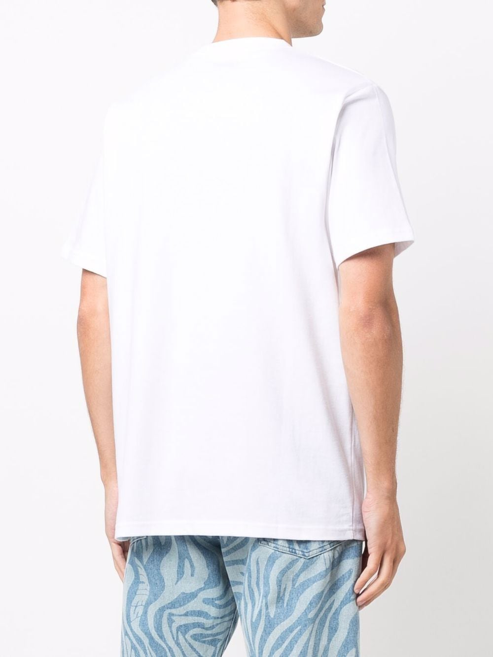Logo t-shirt White in Cotton Man DICKIES   T-shirts   DK0A4XC9WHX