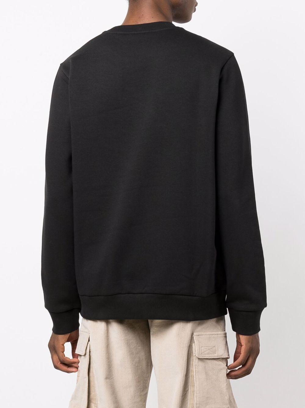 logo sweatshirt man black in cotton DICKIES | Sweatshirts | DK0A4XCIBLK