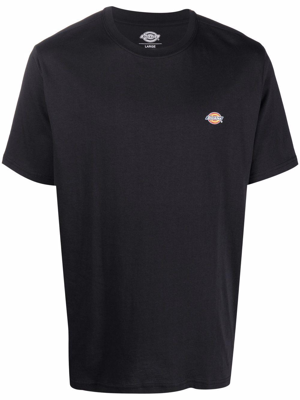 T-shirt con logo Nera in Cotone Uomo DICKIES | T-shirt | DK0A4XDBBLK1