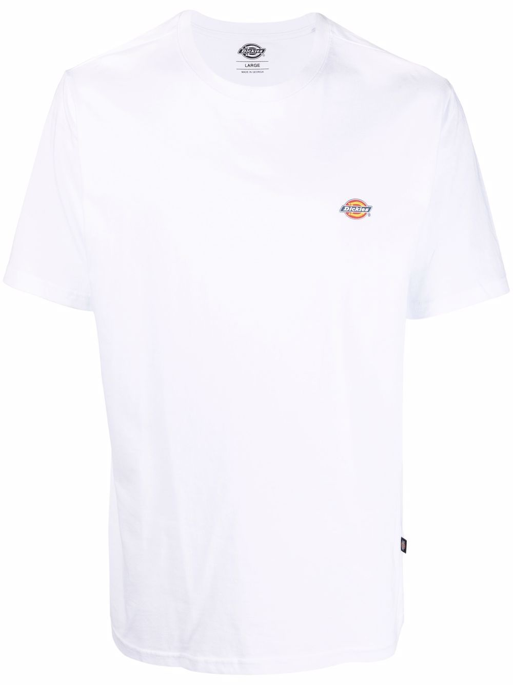T-shirt con logo Bianca in Cotone Uomo DICKIES | T-shirt | DK0A4XDBWHX