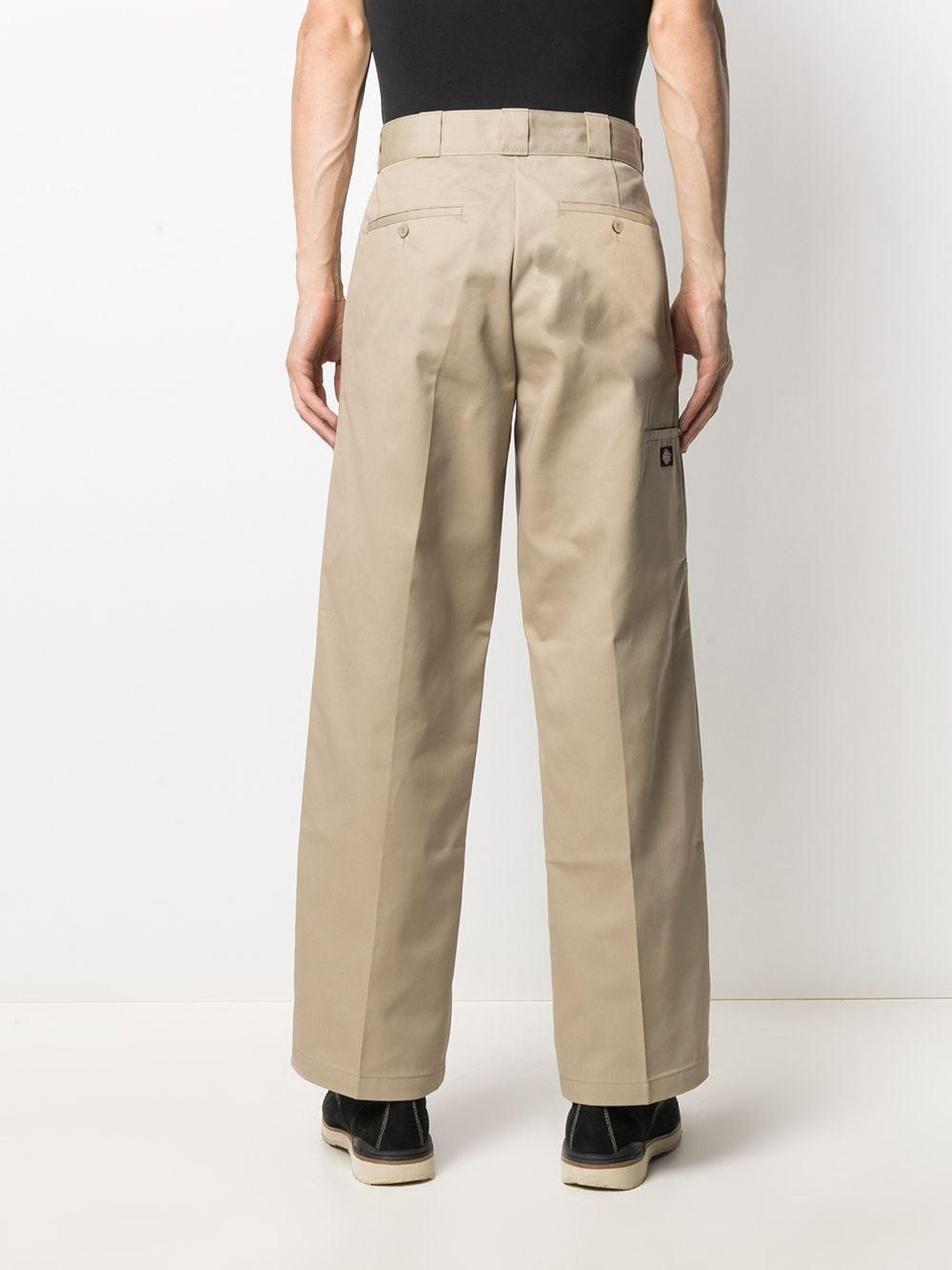 Dickies straight leg trousers man beige DICKIES | Trousers | DK85283XKHK