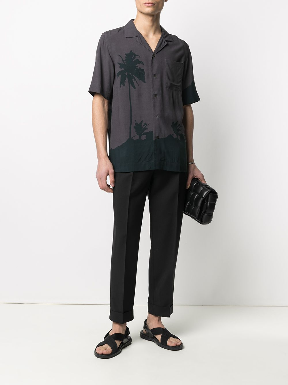 Dries Van Noten camicia con stampa uomo DRIES VAN NOTEN | Camicie | CARLTONE2003