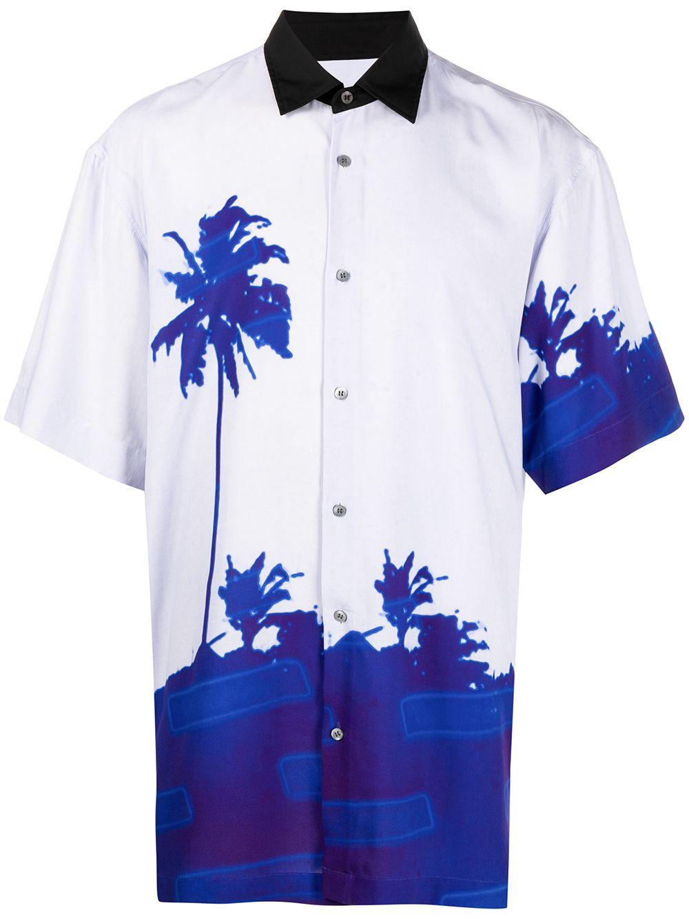 PRINTED SHIRT  DRIES VAN NOTEN | Shirts | CASSIDY2003BLUE
